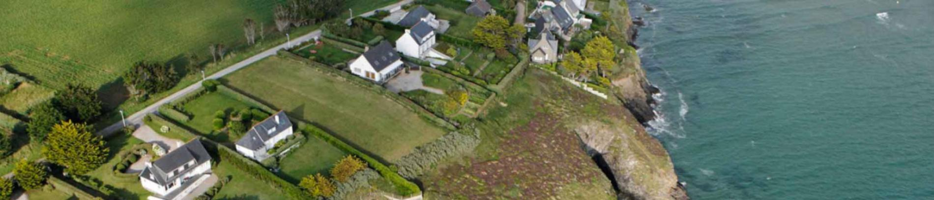 Slide vue aérienne de Saint Nic