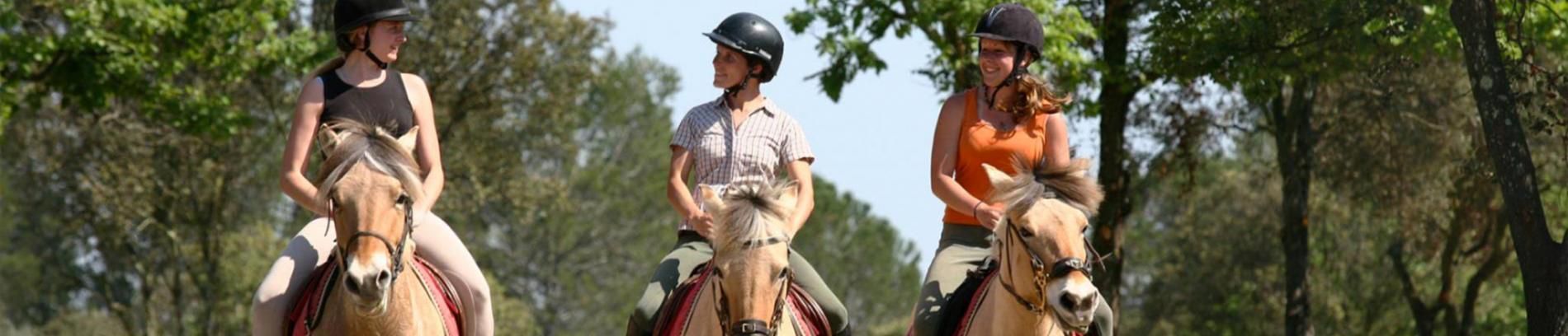 Slide balade à cheval