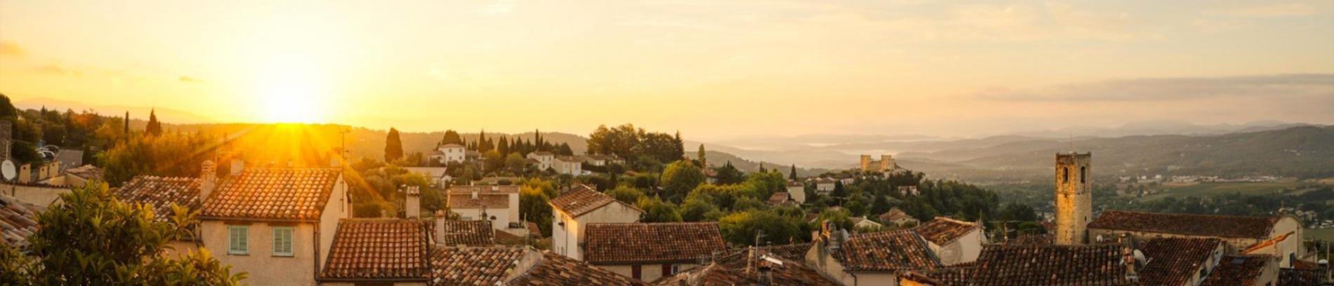 Slide le village de Fayence