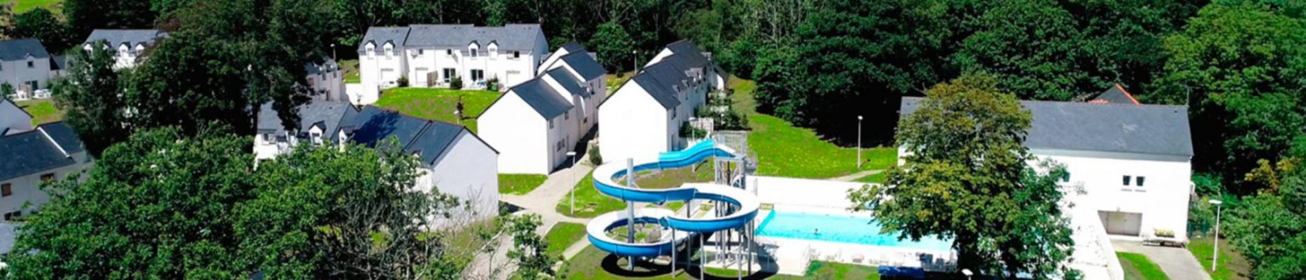 Slide vue aérienne de la résidence