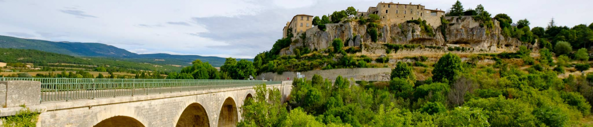 Slide visite des alentours - Vaucluse
