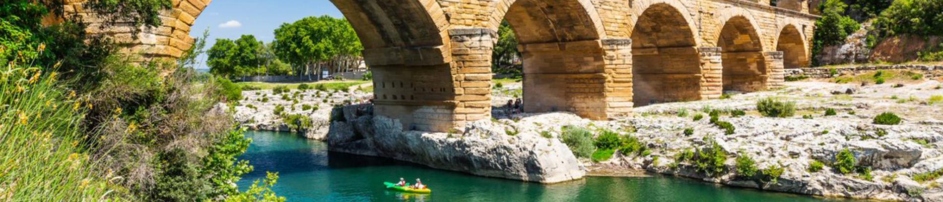 Slide visite des alentours - Nîmes