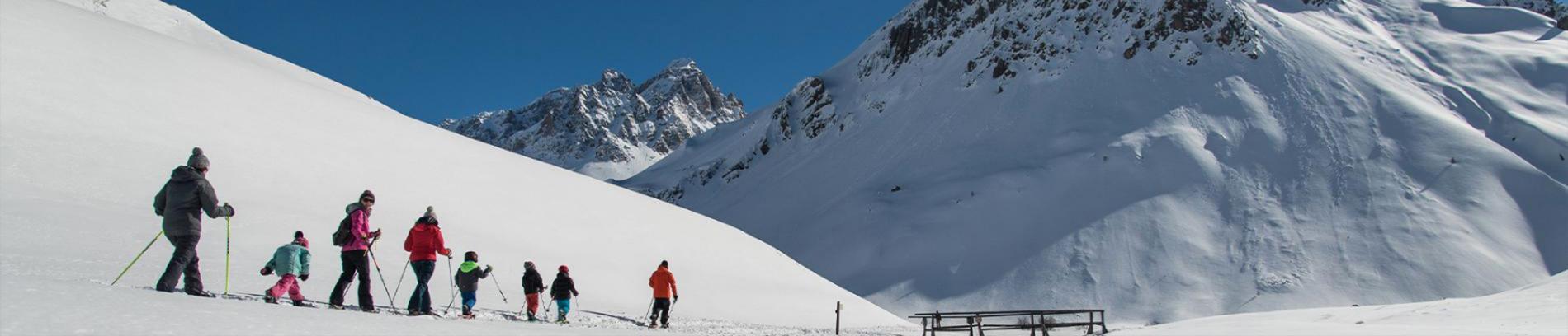 Slide ski de randonnée