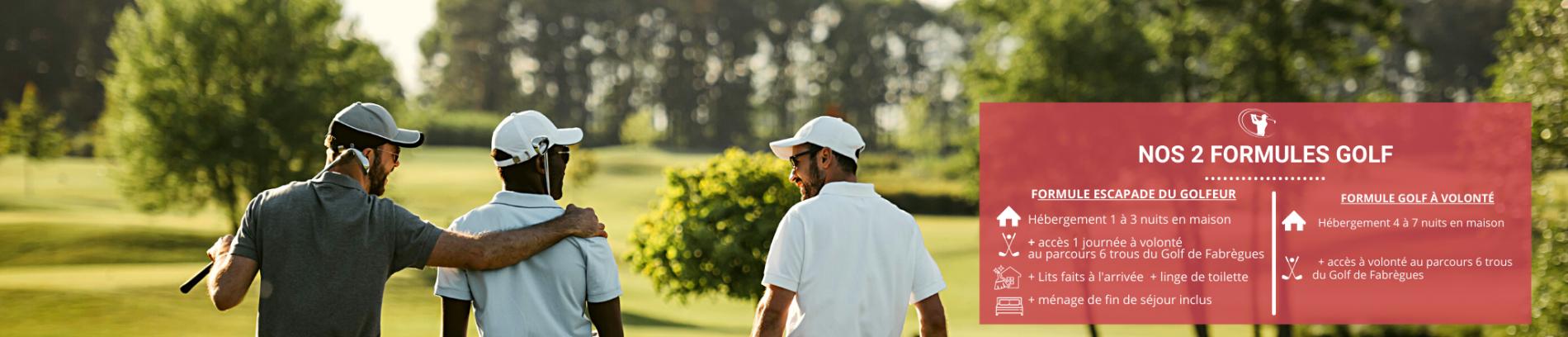Slide Formule Golf au Domaine du Golf - Fabrègues