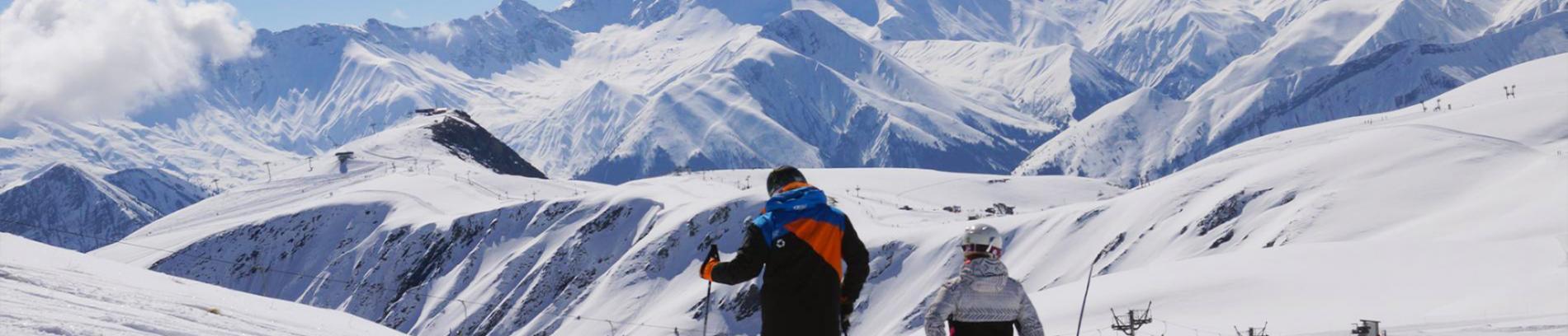 Slide la domaine skiable