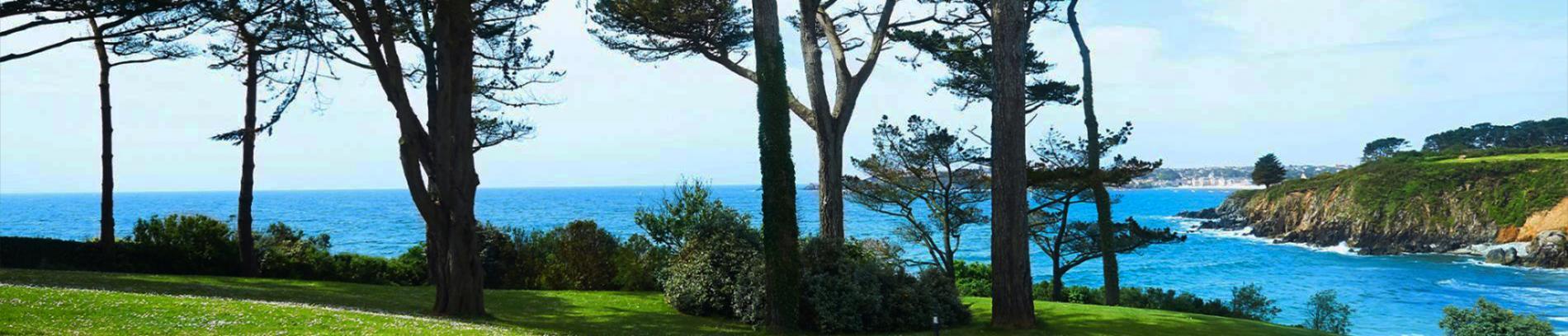 Slide vue mer depuis la résidence