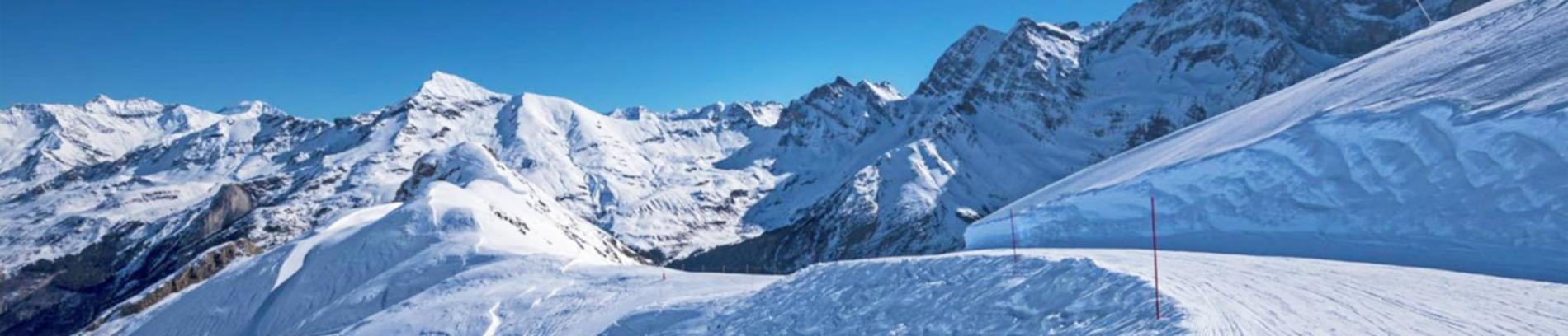 Slide domaine skiable