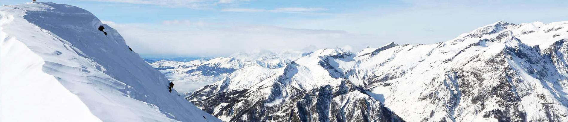 Slide paysage de montagne