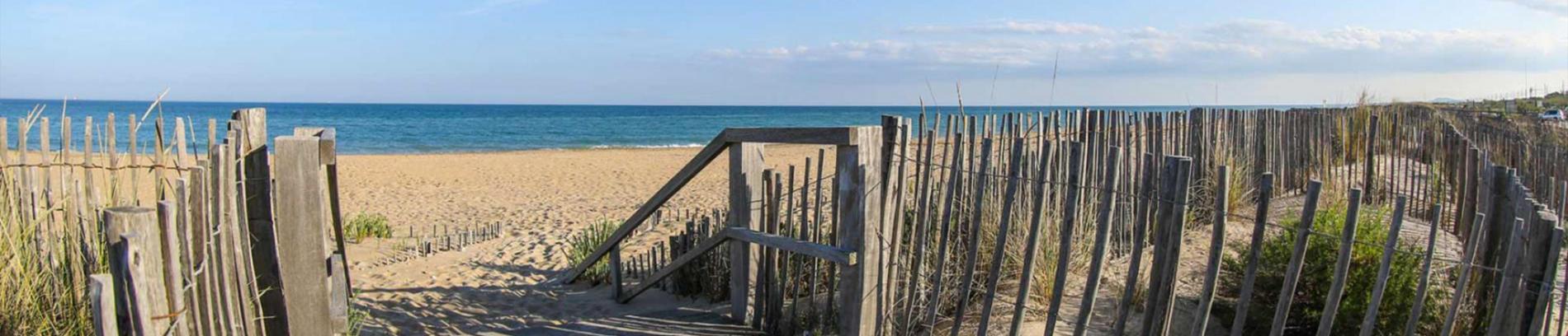 Slide Les plages